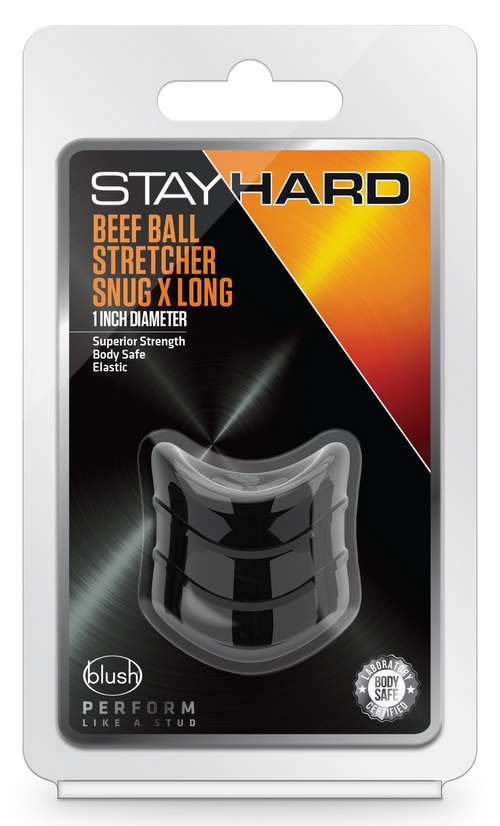 Stayhard Beef Ball Stretcher Snug Extralong