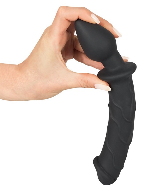 Black Velvets Dildo and Plug