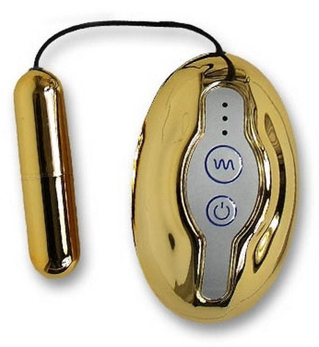 Vibrating Bullet Luxus Gold