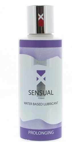 XSensual Waterbased Lubricant Prolonging, 150 ml