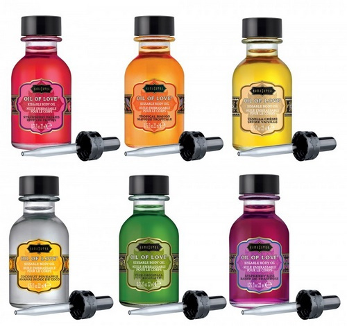 KamaSutra Oil Of Love - The Collection Set, 6 x 22 ml