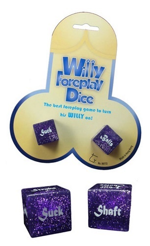Willy Foreplay Dice