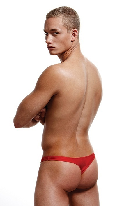 Envy Low Rise Thong, punaiset
