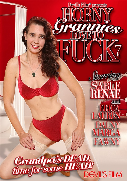 Horny Grannies Love To Fuck 7, DVD
