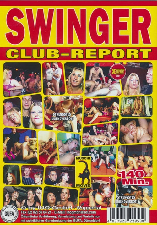 Swinger Club-Report aus Deutschland, DVD