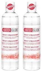 jaa Waterglide Sweet Strawberry - mansikka-makuliukuvoide, 300 ml
