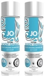 jaa JO Total Body Shaving Gel, neutraali, 240 ml