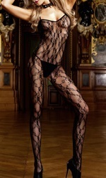 jaa Flower lace bodystocking #440
